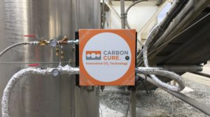CarbonCure system installed in a concrete plant's reclaimer system. (Image courtesy of CarbonCure).