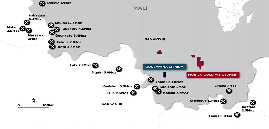 Ganfeng Lithium to buy 50% of Mali mine for $130 million